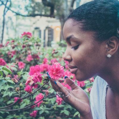Neem een moment om de bloemen te ruiken - Bloei & Groei Amsterdam