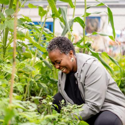 Vrouwen groeien samen - Amsterdam - tuinen van Bloei & Groei