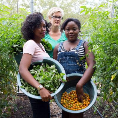 Vrouwen in de tuin - Bloei & Groei Academie